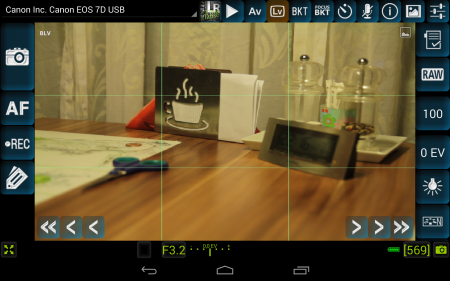 DSLRDashboard a new App for tether shooting