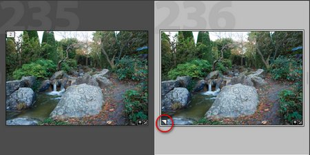Virtual copies and snapshots in Lightroom