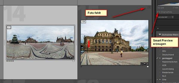 Bilder mit Lightroom auf externe Festplatte auslagern