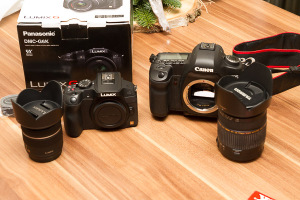 Noise comparism between Canon 5D MK II, 7D and the Lumix G6