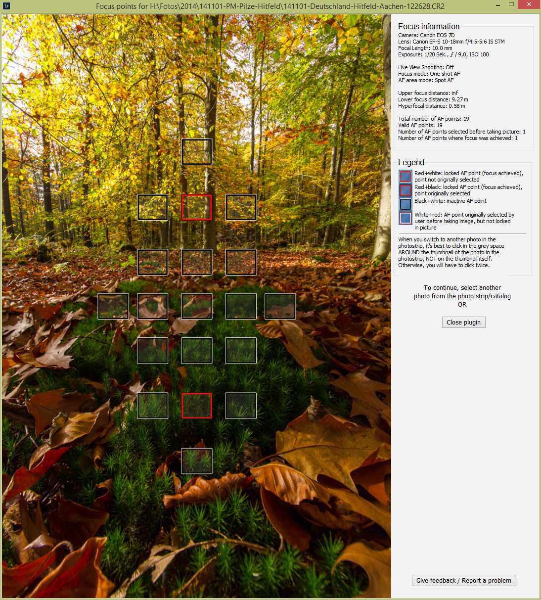 Fokusstacking bei Landschaftsaufnahmen