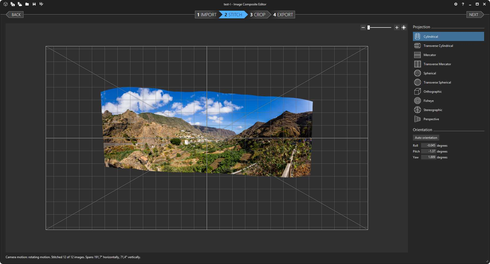 Comparing panorama tools - My Blog