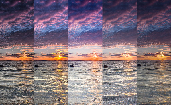4 (5) options to generate HDR images