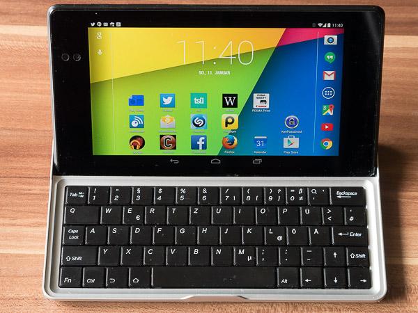 7 Zoll Tastatur