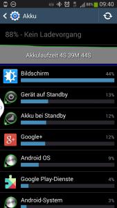 Viele Apps verbrauchen viel Strom