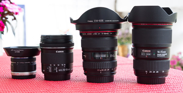 Group picture with 4 lenses