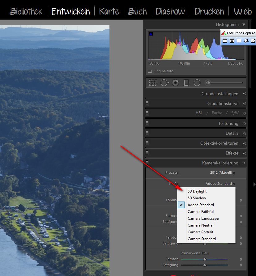 Kameraprofile mit X-Rite Colorchecker Passport erstellen