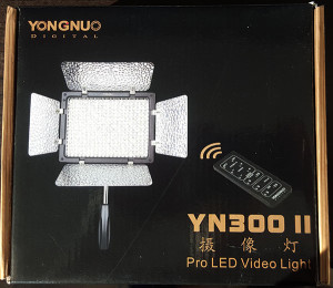 Yongnuo YN 300 II video lights