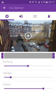 Kurz angeschaut Adobe Premiere Clip
