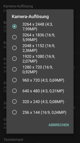 OpenCamera für Android