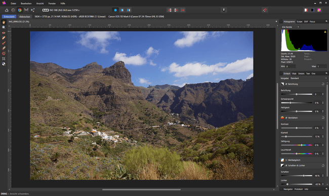 Affinity Photo als Photoshop Alternative