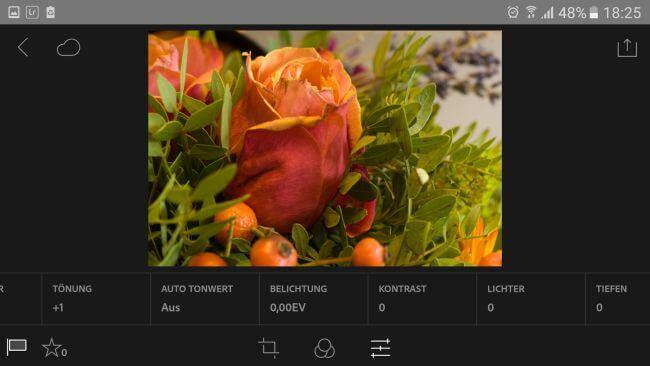 Lightroom Mobile 2.2 veröffentlicht