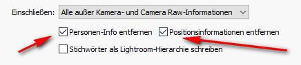 Metadaten mit Lightroom kontrollieren