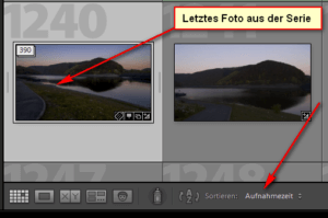 Timelapse Video mit Lightroom