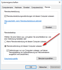 Windows 10 und Remote Desktop auf Android