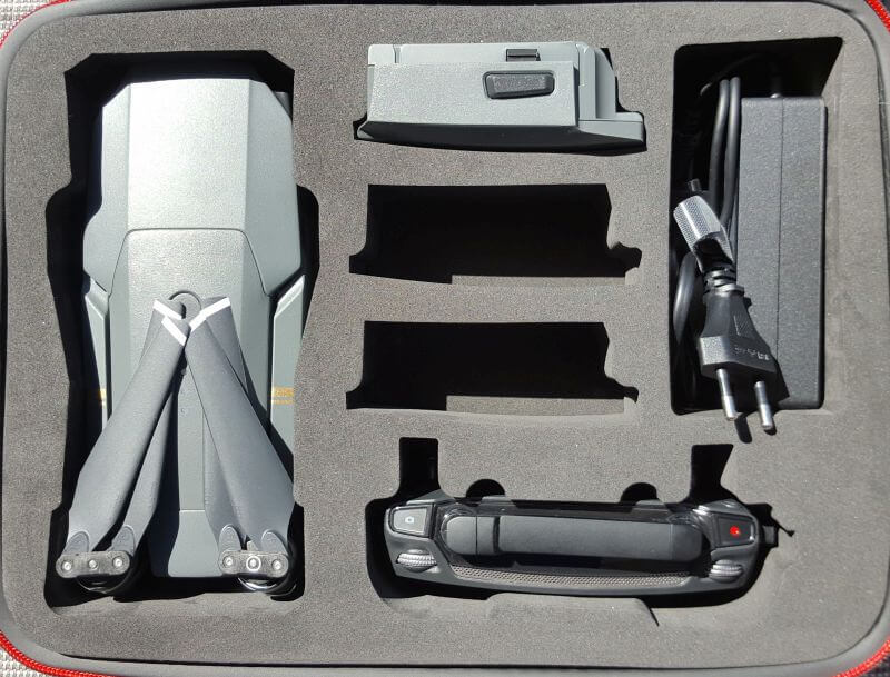DJI Mavic Pro accessories and first conclusion