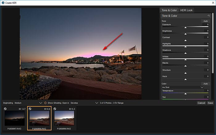 ON1 Photo RAW 2018 Beta