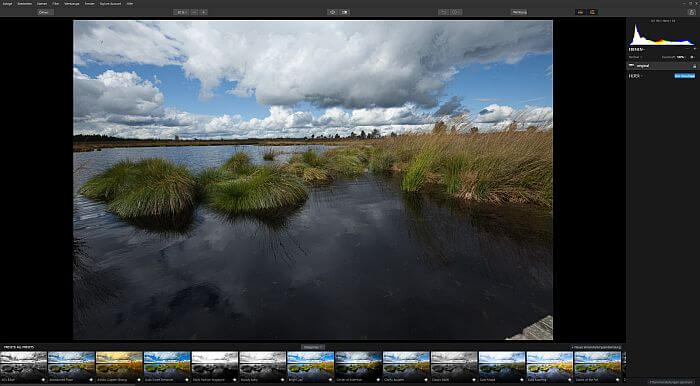 Luminar 2018 als Lightroom Alternative