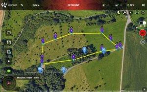 Geplante Flüge mit der DJI Drohne