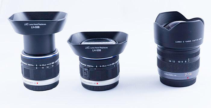 Olympus 9-18mm vs. Panansonic 7-14mm