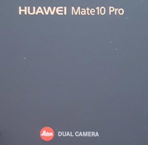 Huawei Mate 10 Pro results