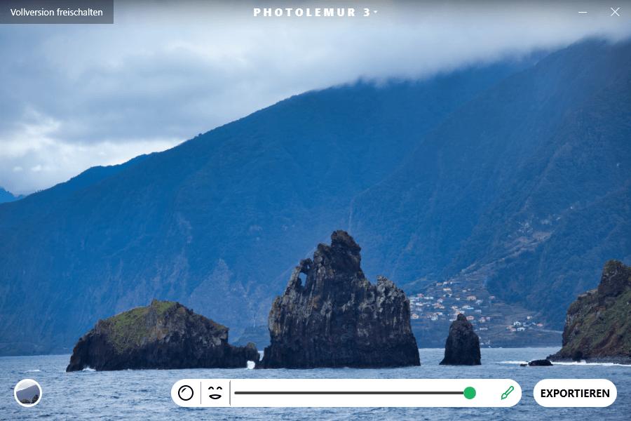Automatische Bildbearbeitung mit Photolemur 3