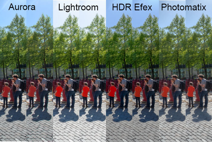 HDR and DeGhosting
