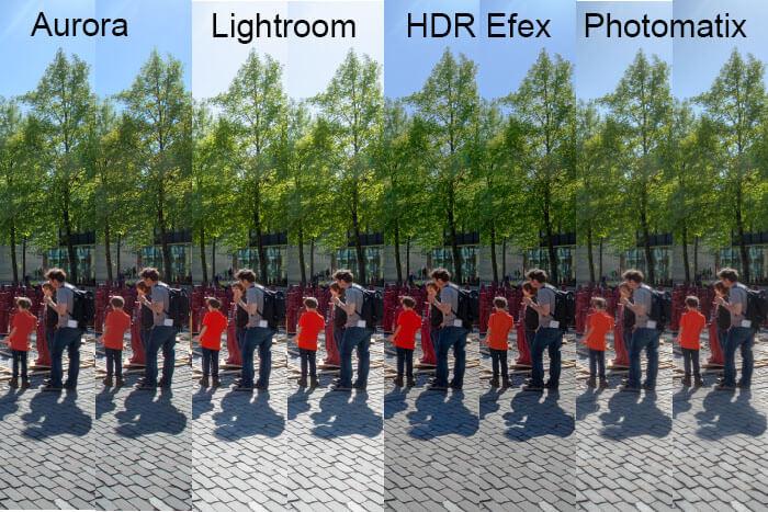 HDR Aufnahmen und DeGhosting
