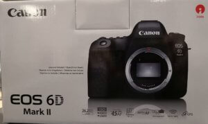 Canon 6D MK II as a upgrade I