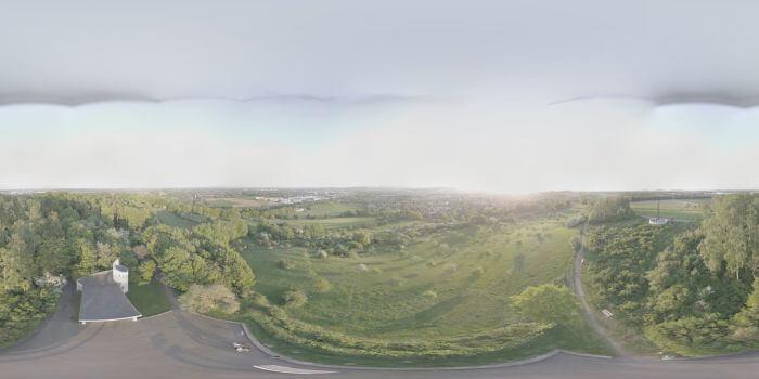 Panoramen und die DJI GO APP