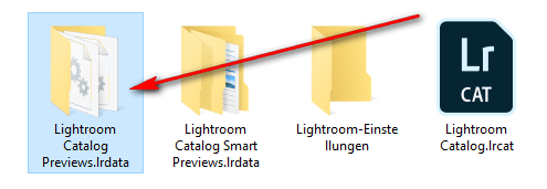 Restore from a Lightroom backup