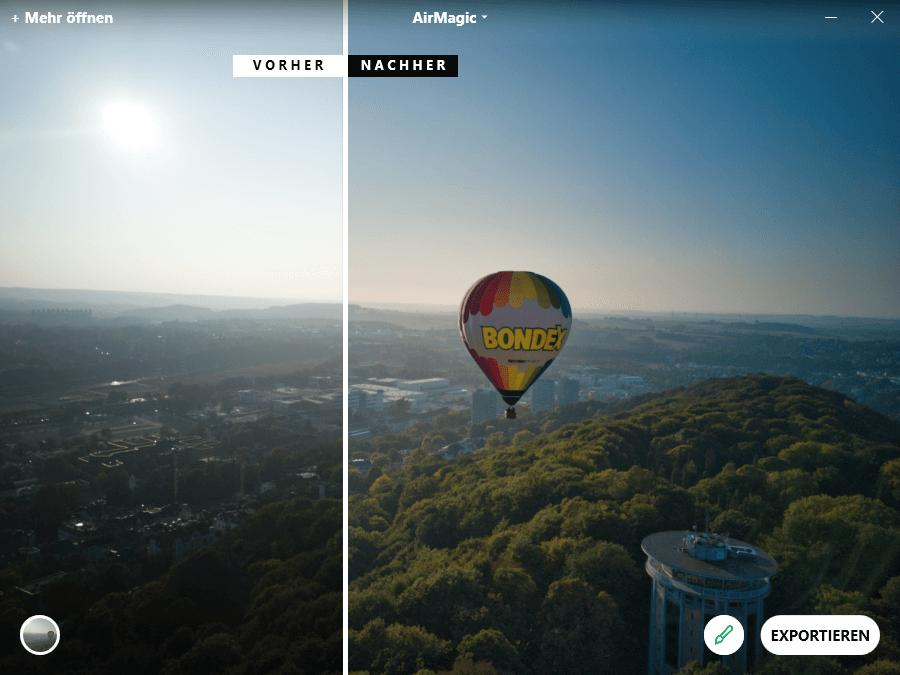 AirMagic und Drohnenfotos