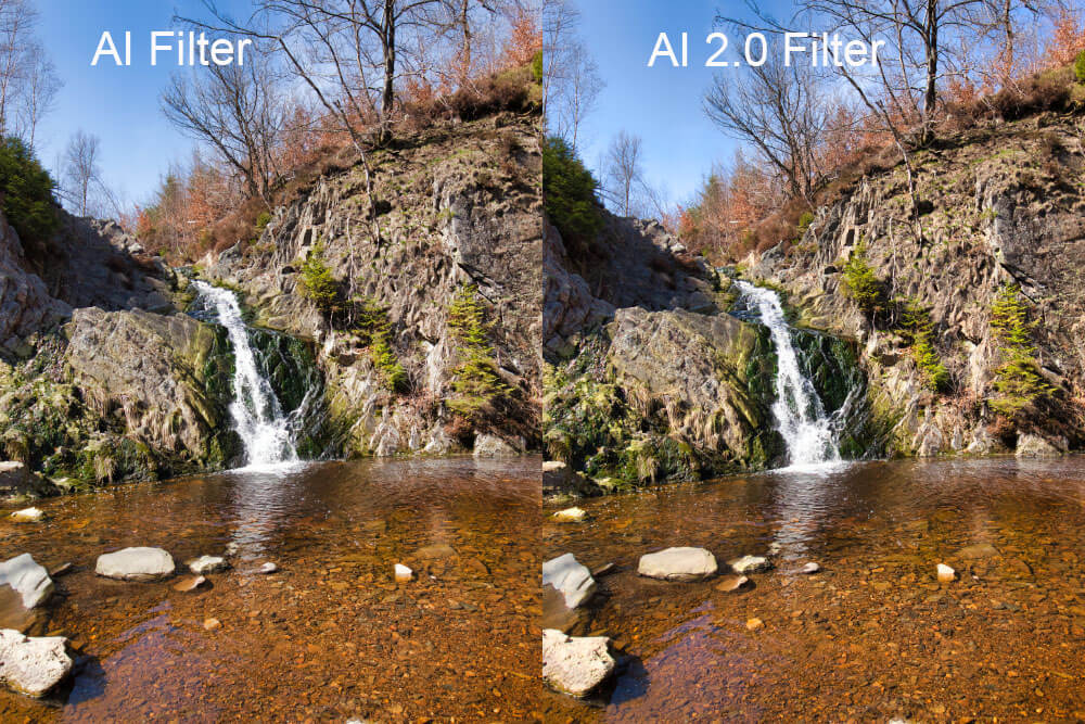 Luminar 3.1.0 mit Accent AI 2.0 Filter