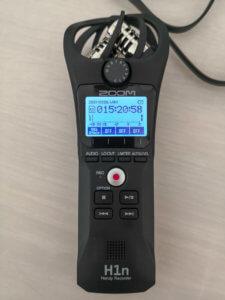 Der Zoom H1n ein preisgünstiger Handrecorder