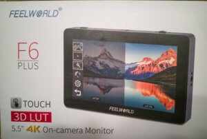 FeelWorld F6+ a monitor with touch