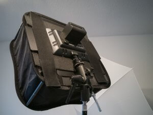 Softboxes for video lights