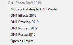ON1 Photo Raw 2019.5