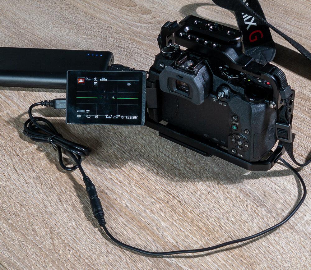 Power supply for Lumix cameras