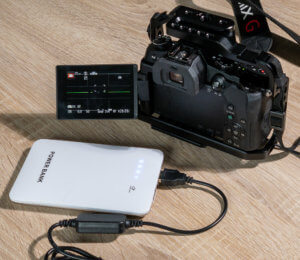 Power supply for Lumix cameras