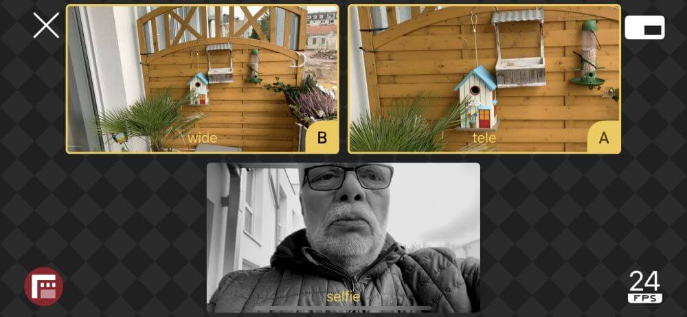 Filmic Double Take App