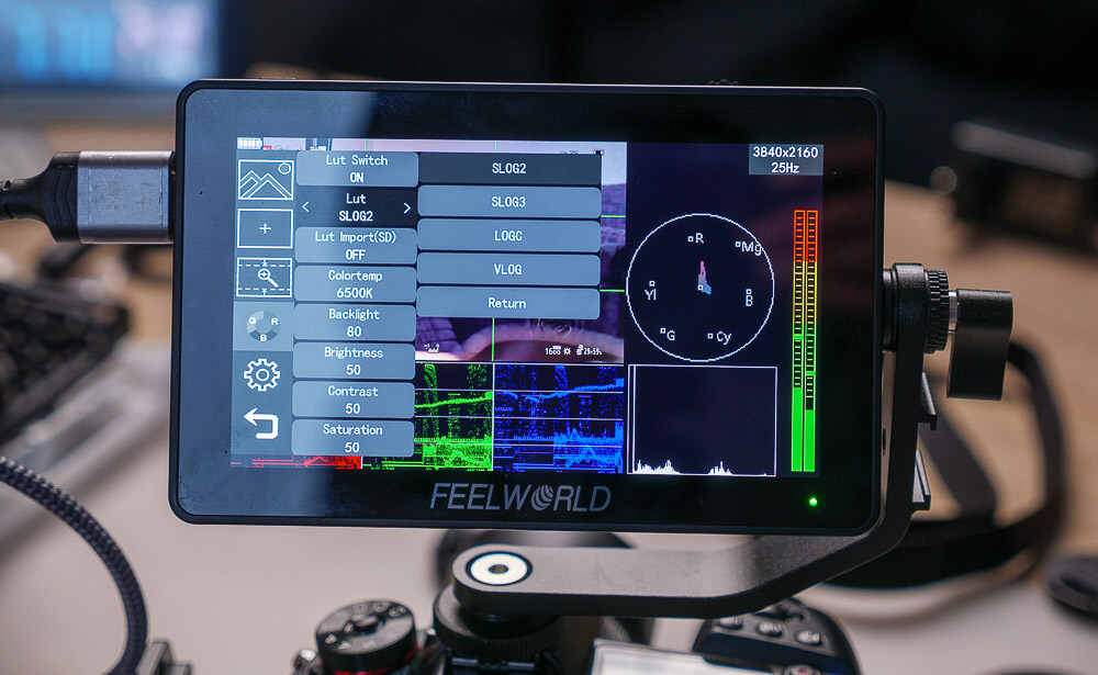 Firmware Update für den FeelWorld F6+