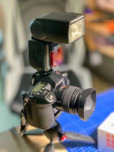 Big flash for a small mFT camera