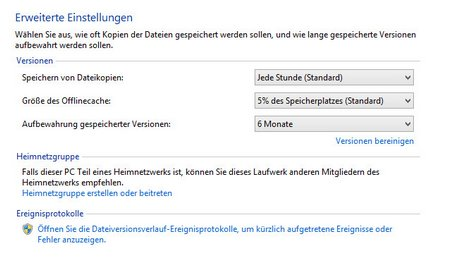 Windows Datensicherung