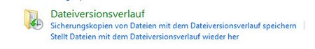 Windows8-Dateiverlauf